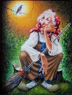 Баба-Яга - злая волшебница или несчастная одинокая женщина?. Обсуждение на LiveInternet - Российский Сервис Онлайн-Дневников