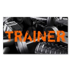 Personal Trainer Exercise Gym Fitness Business Business Cards. This is a fully customizable business card and available on several paper types for your needs. You can upload your own image or use the image as is. Just click this template to get started!