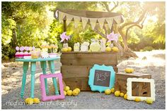 When life gives you lemons, make an awesome lemonade stand!