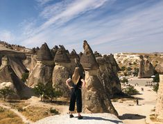Overlooking the fairy chimneys of Cappadocia at Pasabagi, near Goreme. Great Places, Places To See, Famous Fairies, Sunset Point, Visit Turkey, Before Sunrise, Turkey Travel, Cappadocia, Great View