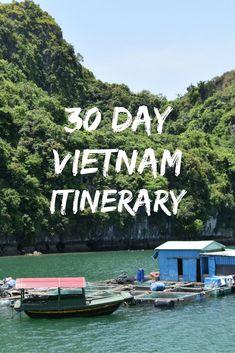 A 30-day Vietnam Itinerary | Eternal Expat