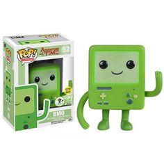 Funko Pop! Green BMO GITD, ECCC Exclusive, Hora da Aventura, Adventura Time, Cartoon, Funkomania