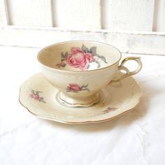 vintage tea cup german porcelain