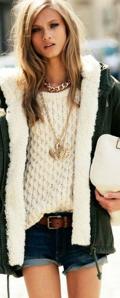 Sweater & Necklace