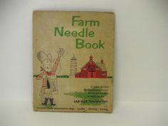 Vintage Farm Needle Book  Advertising Lab-Mix Formulated Feed.    My mother-in-law is 99 yrs young and we found this needle book in her home