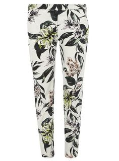 Tall Tropical Cotton Sateen Trousers