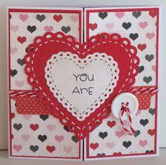 Monday Craft Madness #12 | #DIY Valentine's Day Card