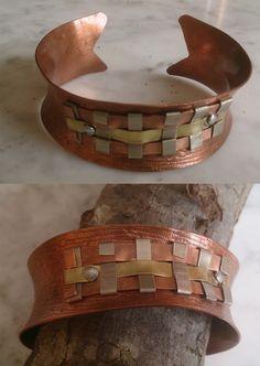 De cobre con adorno latón, cobre y alpaca Belt, Accessories, Fashion, Copper, Ornaments, Bangle Bracelets, Belts, Moda, Fashion Styles