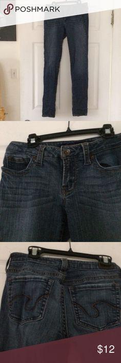 Straight leg jeans Only worn 5 times. Straight leg, long refuge Jeans Straight Leg