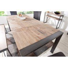 Nowoczesny, rozkładany, drewniany stół do salonu czy jadalni. Meble Bydgoszcz.