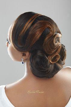 AO Photography, Beauty Boudoir, Charis Hair Shoot_BellaNaija_Black bride hair and makeup_CSwedding shoot 793 4