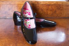 1960's Black Patent Leather Mary Janes by Miss America
