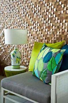 Mosaicos de madeira