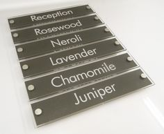hotel room signage http://www.de-signage.com/Officesigns.php
