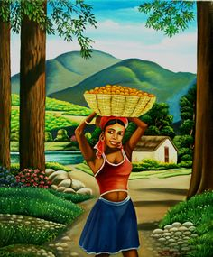 Haitian Art Company Website Haiti Realism Paintings