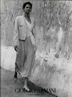 styleregistry: Giorgio Armani | Spring 1989