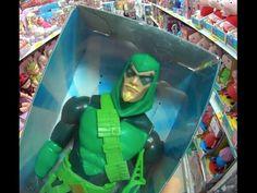 Arqueiro Verde Green Arrow (Seta Verde) boneco articulado Mattel  Brinqu...