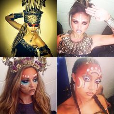 Little Mix shared these amazing pictures of themselves from their tour recently. Copyright [Instagram]