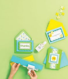 Easy Spring Card How-To's