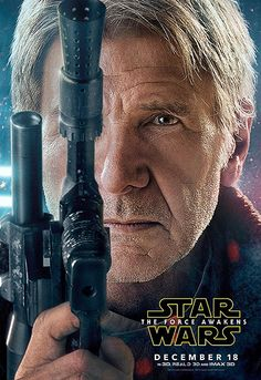 'Star Wars: The Force Awakens' Character Posters | Harrison Ford as Han Solo | EW.com