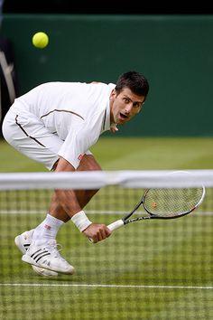 Tom Wimbo day 2: Novak Djokovic