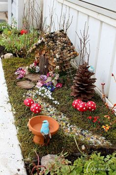 Magical diy fairy garden ideas (26)