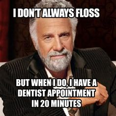 SORRY, but this kind of flossing won't keep your mouth healthy!