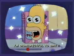 "Mr Sparkle ""I'm disrespectful to dirt!!"""