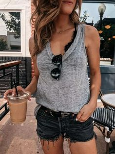 Chic Casual Summer Date Outfits For Girls, everyday casual summer outfits, fashion help, street style casual summer outfits Cool Summer Outfits, Simple Outfits, Classy Outfits, Spring Outfits, Trendy Outfits, Style Summer, Spring Summer, Casual Date Outfit Summer, Beautiful Outfits