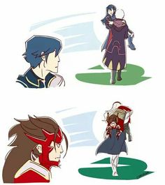 only pinning for robin and lucina, i cant ship female kamui with anyone but male kamui(i know, im weird)