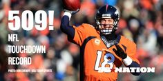 Congratulations to Peyton Manning on breaking yet another record! This guy is absolutely amazing!
