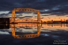 Duluth, Minnesota - Aerial Lift Bridge - Photo by Dawn M. LaPointe