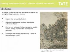 Introduction to Drawing Techniques, an online course with the Tate Gallery, London. £20