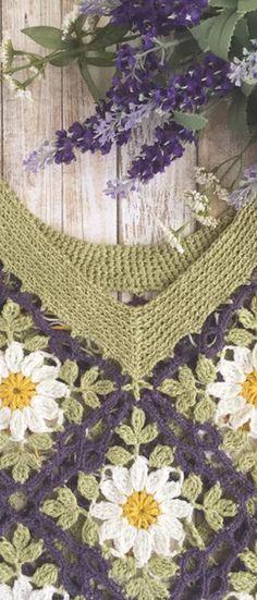 Wild Rose Pullover crochet pattern