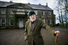 The novelist and playwright J. P. Donleavy at Levington Park, the County Westmeath, Ireland, estate where he has lived since the 1970s.