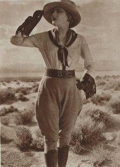 Vilma Banky in The Winning of Barbara Worth c.1926