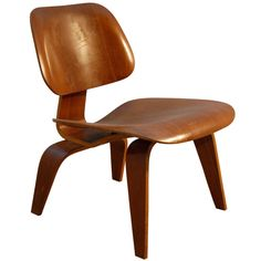 CHARLES AND RAY EAMES LCW WITH EVANS LABEL | From a unique collection of antique and modern chairs at http://www.1stdibs.com/furniture/seating/chairs/