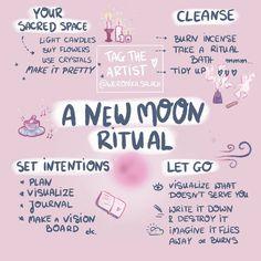 A new moon ritual?A new moon ritual? Rituals Set, New Moon Rituals, Full Moon Ritual, Witch Rituals, Full Moon Spells, Wiccan Spells, Magick, Magic Spells, Real Spells