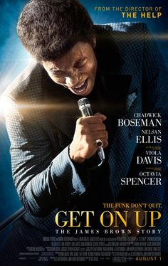 """James Brown Get On Up: The James Brown Story - Original Motion Picture Soundtrack on """"The Godfather of Soul."""" """"The Hardest Working Man in Show Business."""" """"Soul Brother Number One. James Brown, Chris Brown, Hd Movies, Movies To Watch, Movies Online, Biopic Movies, Dance Movies, Movies 2014, Get On Up Film"""