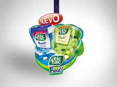 Tic Tac Bold on Behance
