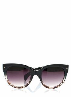 5.20 - rounded cat-eye sunglasses