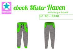 Nähanleitung und Schnittmuster Sweathose Mister Haven Gr. XS-XXXL - Schnittmuster und Nähanleitungen bei Makerist