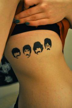 the Beatles #tattoo