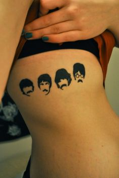 OMG! the Beatles #tattoo