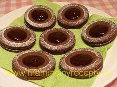 Býčí oči – Maminčiny recepty Biscuits, Crack Crackers, Cookies, Biscuit, Cookie Recipes