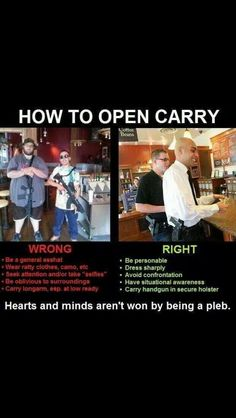 How To Open Carry