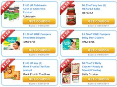 COUPONS.com $$ New Month = New Printable Coupons from Coupons.com: Robitussin, Herdez, Pampers, Betty Crocker & Tons More (1/1)!