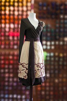 Brown is Beautiful Vintage Remix Hostess Apron