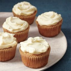 These rich, moist cupcakes take everything you love about carrot cake to the next level, thanks to the sweet spiciness of parsnips and warm, fragrant cardamom. We took a page from the carrot cake playbook and paired these cupcakes with a classic cream-cheese frosting.