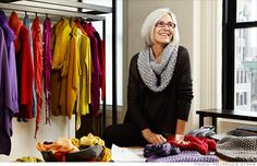 Eileen Fisher | clothing designer and founder of the women's clothing retailer, Eileen Fisher, Inc.
